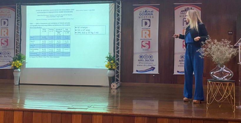 Dra. Cláudia Machado participa de evento sobre Distúrbios Respiratórios do Sono